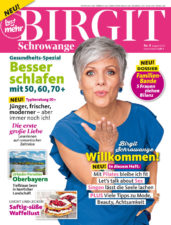 Birgit Schrowange August 2018 Cover